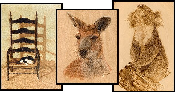 Sue Walters Pyrography